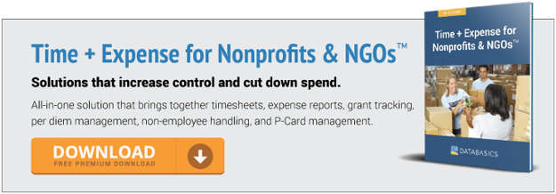 Solutions for Nonprofits & NGOs That Increase Control & Cut Down On Spend