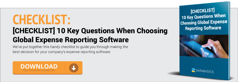 [CHECKLIST] 10 Key Questions When Choosing Expense Reporting Software