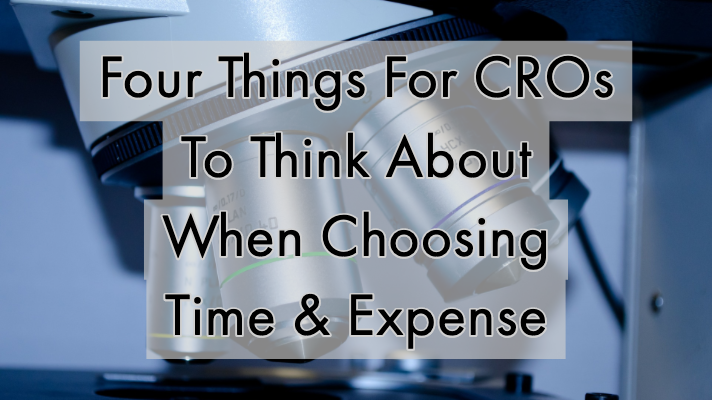 Four Things For CROs To Think About When Choosing Time & Expense