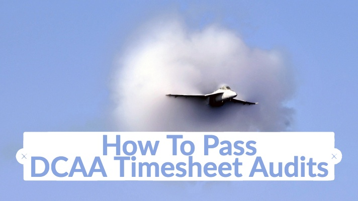 How To Pass DCAA Timesheet Audits